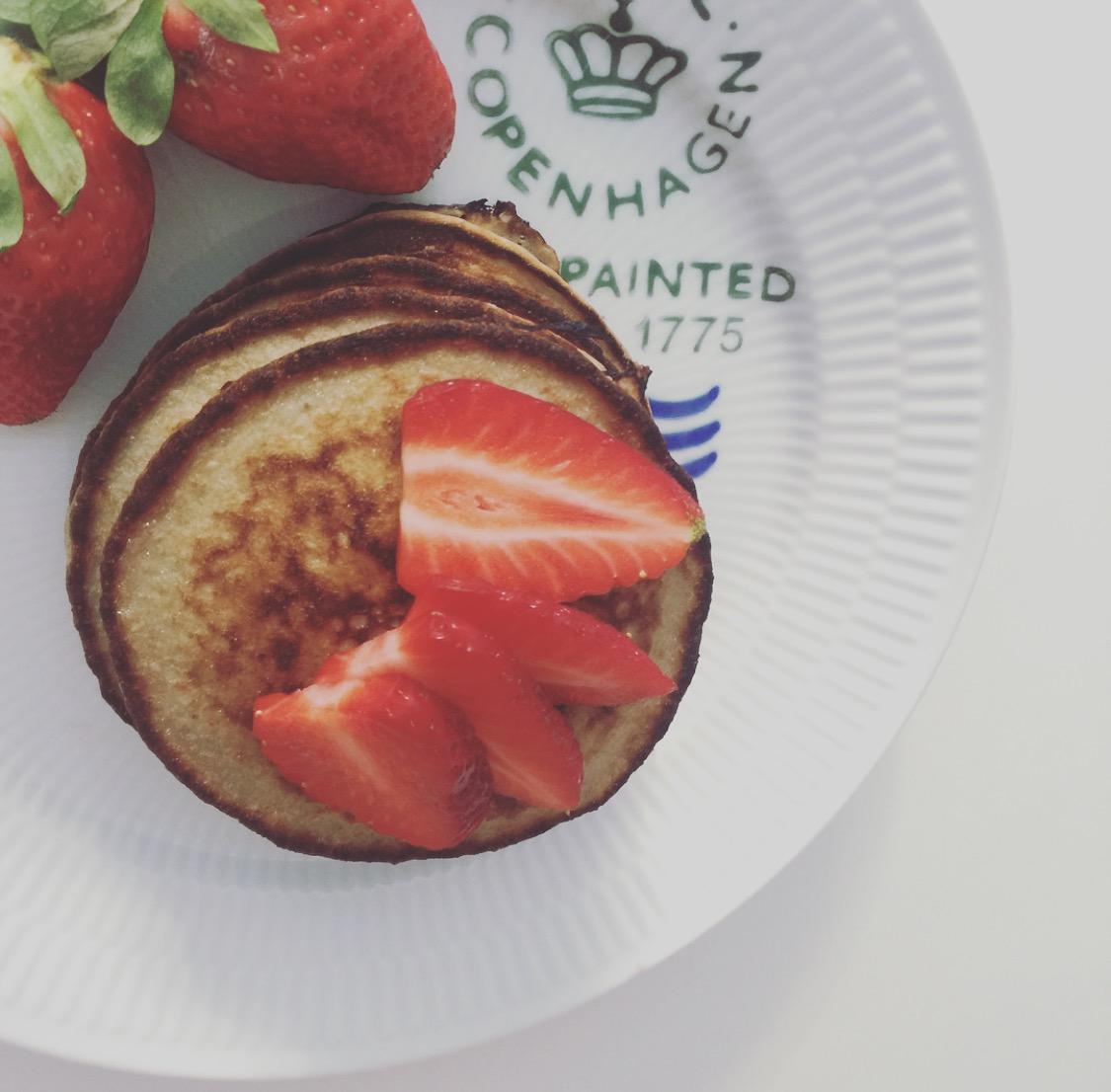 Mama Brown's Glutenfri [Sukkerfri] pandekager graphic