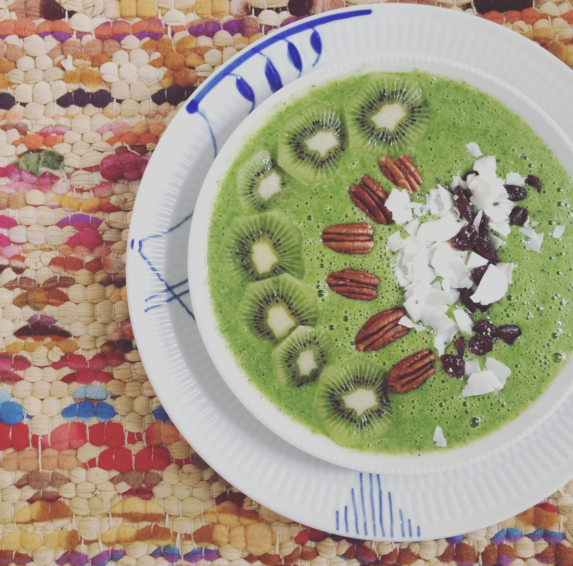 Mama Brown's Green Smoothie Bowl – for Begyndere graphic