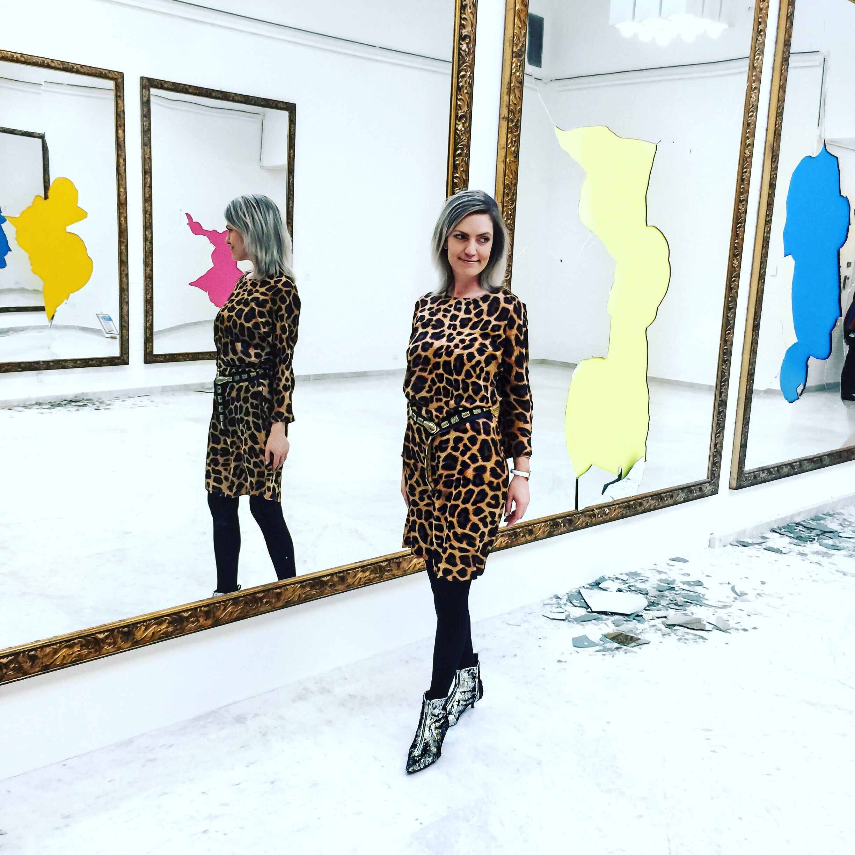 Mama Brown, leopardpletter & Kunsten Aalborg graphic